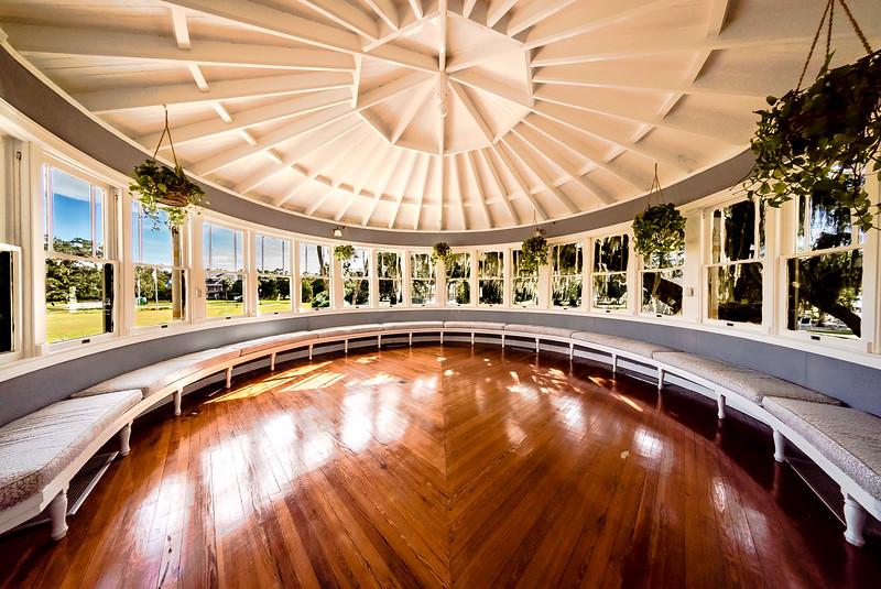 Jekyll Island Club Hotel Sunroom