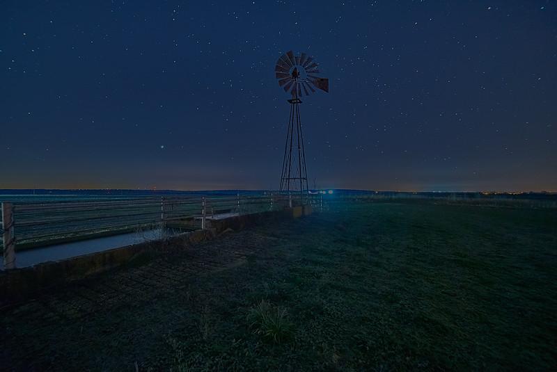 Windmill in the Stars