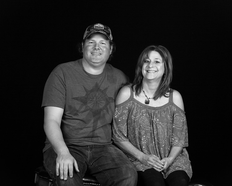 2017 APRIL 16 SHERYL AND TIM-1-BLACK AND WHITE