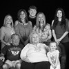 2017 APRIL 16 DONNY, SANDY AND THEIR GRANDKIDS-3 BLACK AND WHITE