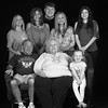2017 APRIL 16 DONNY, SANDY AND THEIR GRANDKIDS-1 BLACK AND WHITE