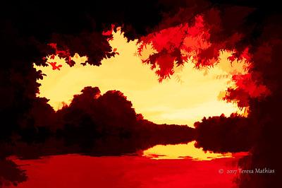 Day 357 - Framed Flames