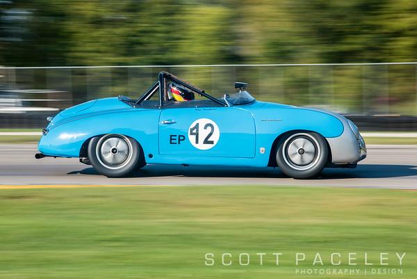 Vintage Sports Car Driver Association, Elkhart Lake Vintage Festival. Vintage Racing at Road America.