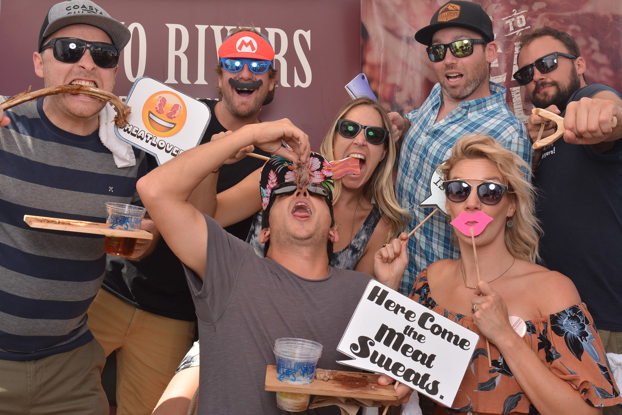 Photo fun with Two Rivers Meats at Brewery and the Beast 2017.