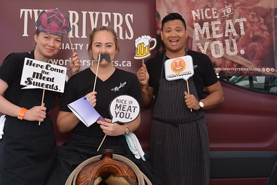 Brewery and the Beast 2017  Photo fun with Two Rivers Meats at Brewery and the Beast 2017.