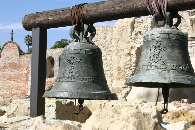 Bells at Mission San Juan Capistrano, CA