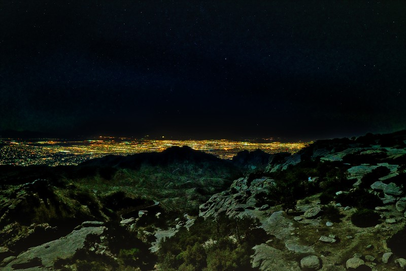 Tucson from Above