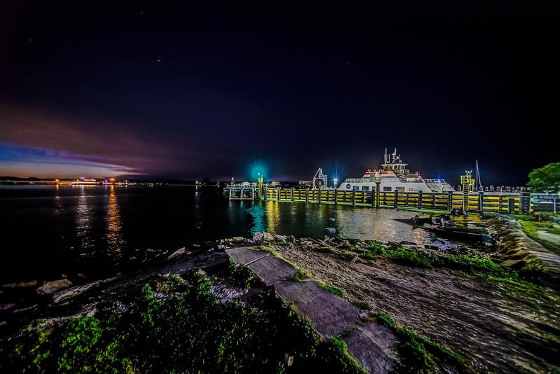 St. John's Ferry at Night