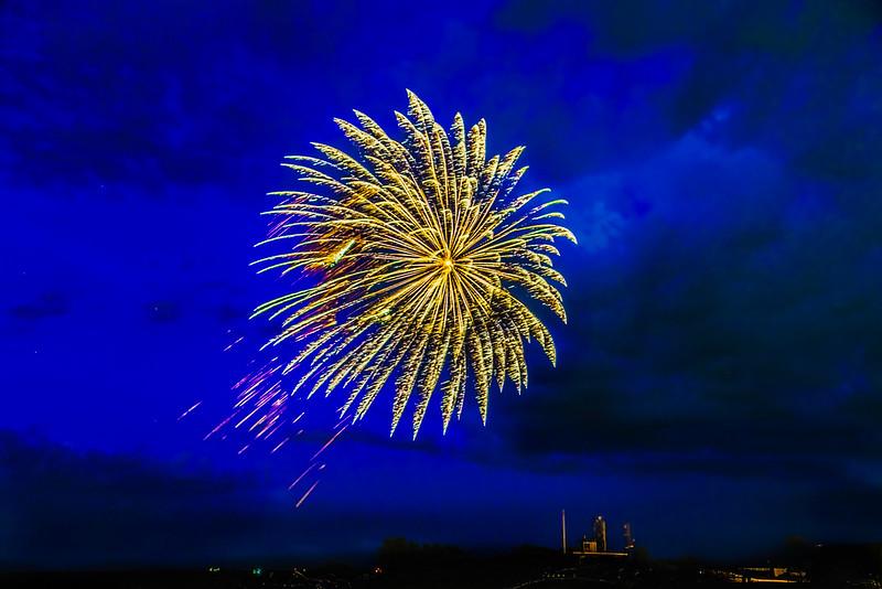 Blue Velvet Fireworks