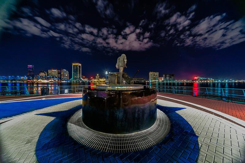 Bold City at Night