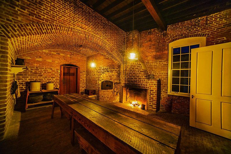 Fort Clinch Kitchen