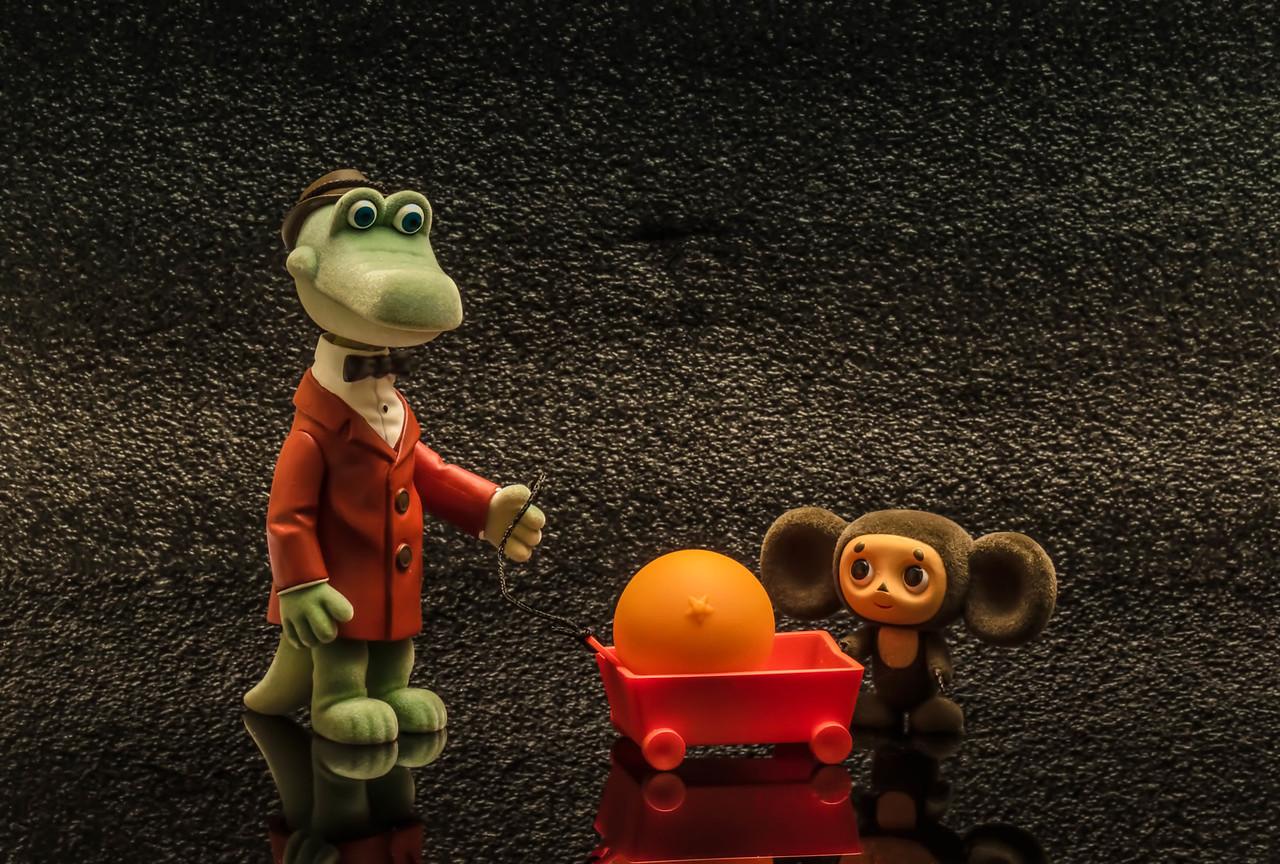 Gene & Cheburashka