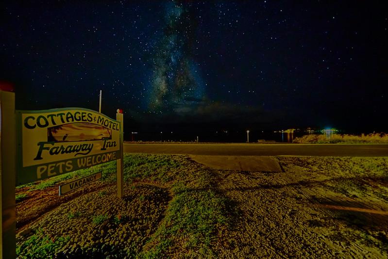 Milky Way at Faraway Inn