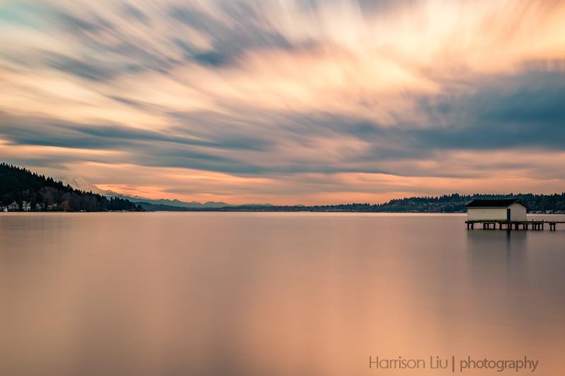 Dusk over Lake Washington