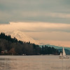 Sailboat on Lake Washington