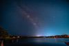 NS Mayport Lake with Milky Way