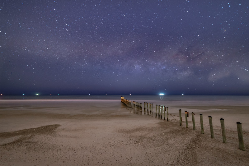 Atlantic Beachfront Milky Way Show