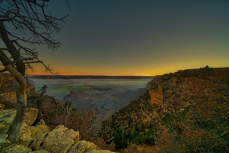 Foggy Canyon Sunrise