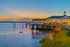 Jekyll Wharf Sunset