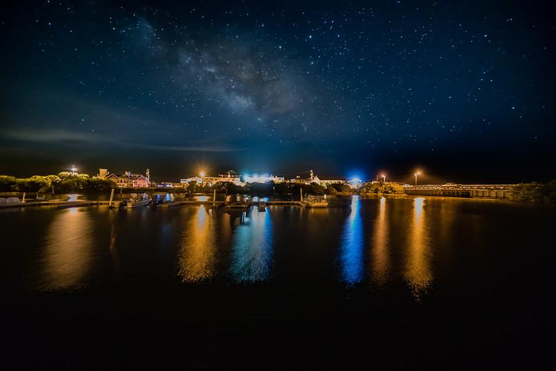 Cedar Key Night Sky