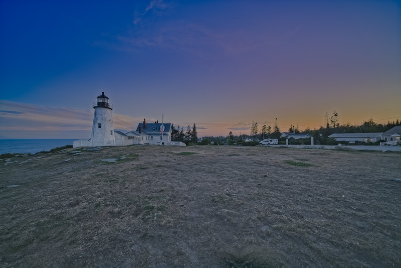 Pemaquid Point Lighthouse Sunset