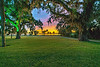 Under the Oaks Sunset