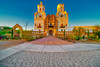 Mission San Xavier Del Bac at Golden Hour