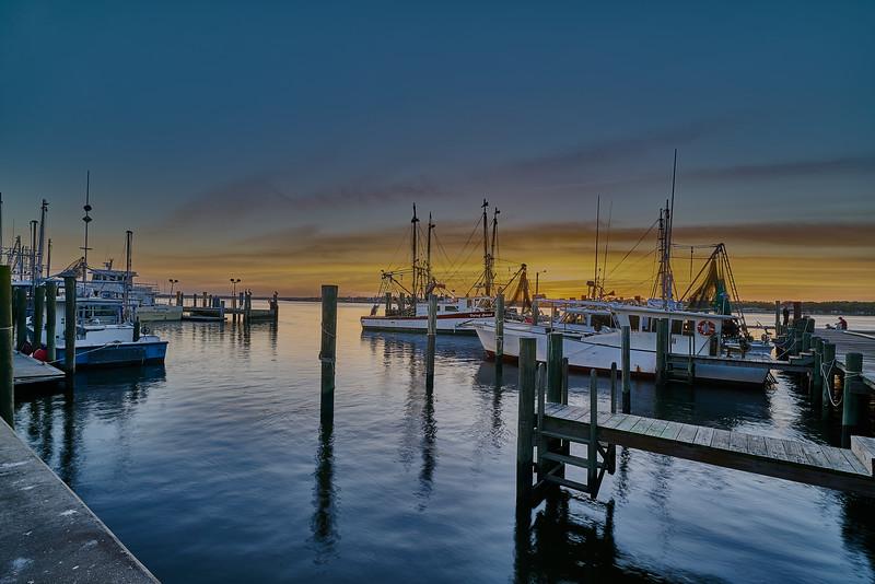 Marina Easter Sunset