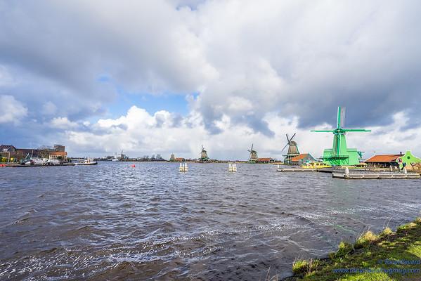 2018Windmills of Amsterdam, Netherlands