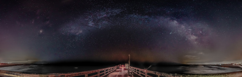 Galactic Rainbow over St. Augustine Pier