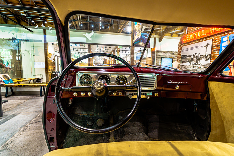 1947 Studebaker Champion 4-Door Sedan inside