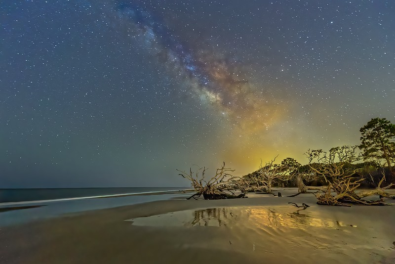 Galactic Nightlight