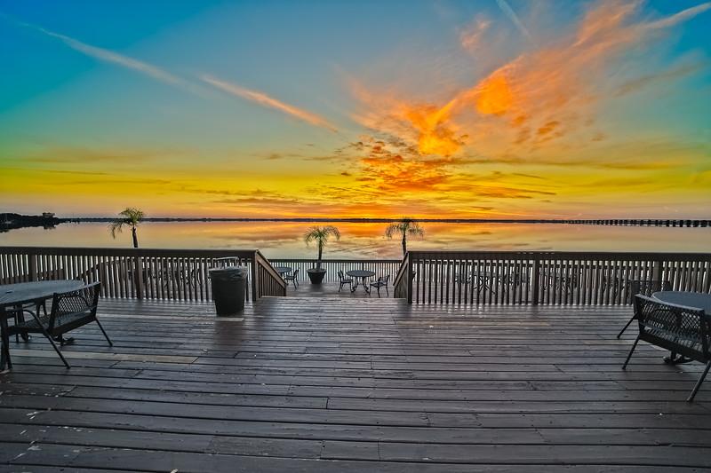 Sunrise over St. Johns River