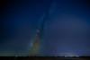 Dark Horse Nebula in Sky Glow