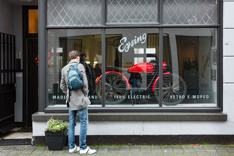 A Dutch electric motor bike company. Probably quite expensive.