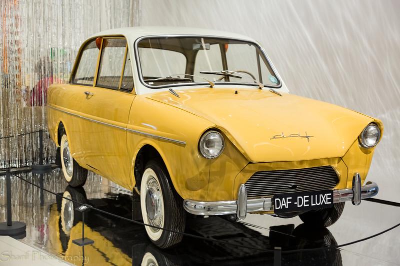 Dutch car manufacturer DAF made cars until the 80s or so.