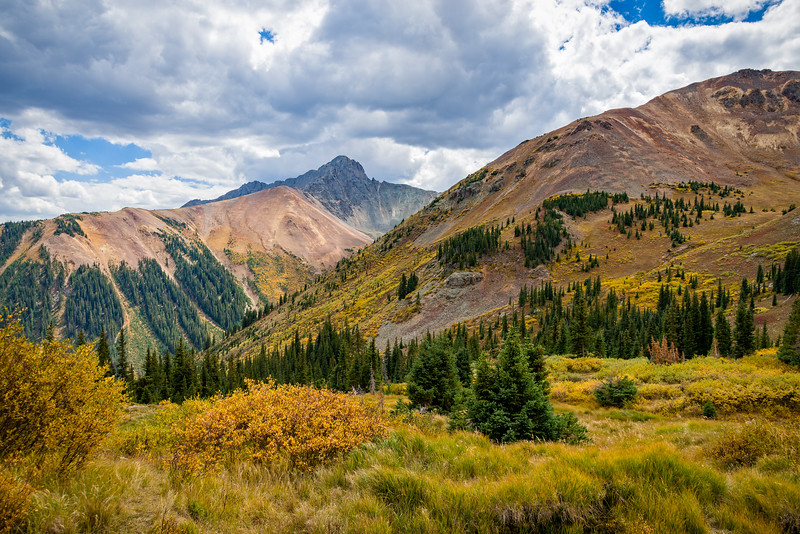 Mountain Scene | Near Ophir Pass | San Juan Mountains | CO