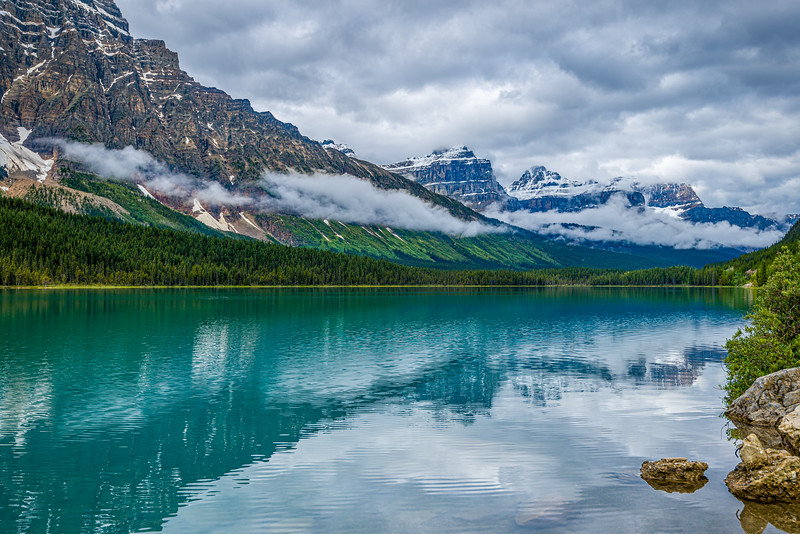 Clearing Storm | Waterfowl Lakes | Banff National Park | Canada