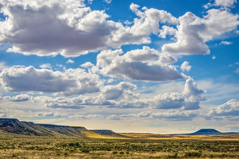 Antelope Knoll   Spring Clouds   AZ