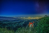 Light Trailing from Tucson Az., No Escape