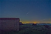 Comet Neowise next to Fort Clinch Florida
