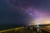 Dark Sky Surprise above Skyglow