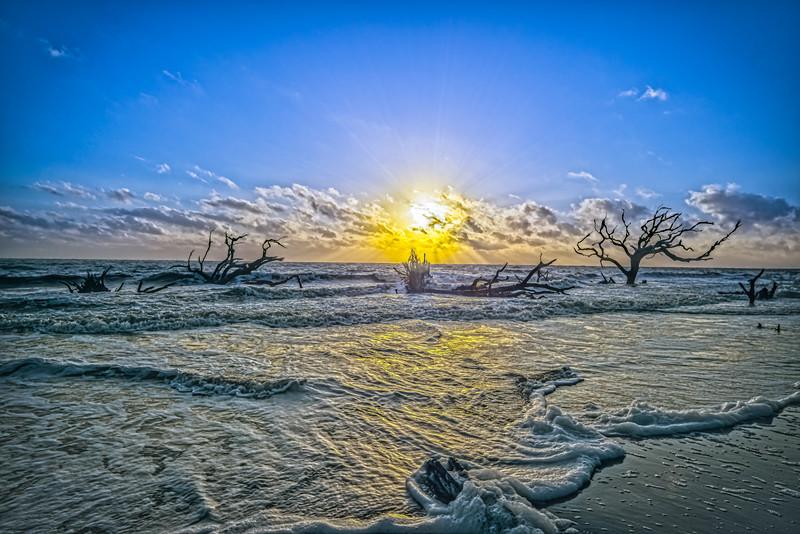 Morning Sunrise Silhouettes