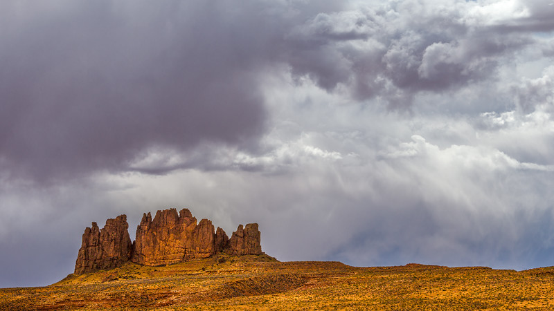 Alhambra Rock | Storm Clouds