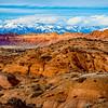 Comb Wash Badlands | Comb Ridge | Abajo Mountains