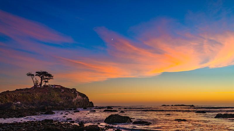 Battery Point Lighthouse | Sunset Sky