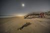 Moon Lit Beach