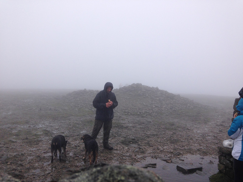 ingleborough summit!