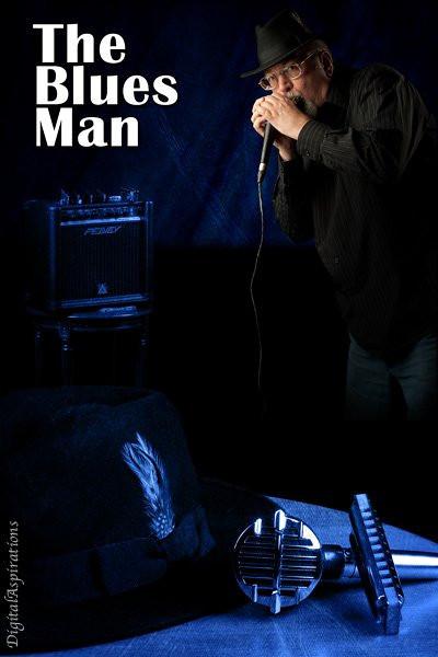 """The Blues Man"" version 2"