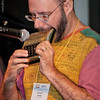 Michael Rubin, Austin musician plays the Harmonetta at the national harmonica conference. (SPAH). The will be the last of my SPAH images. My attendance was indeed a musical high.